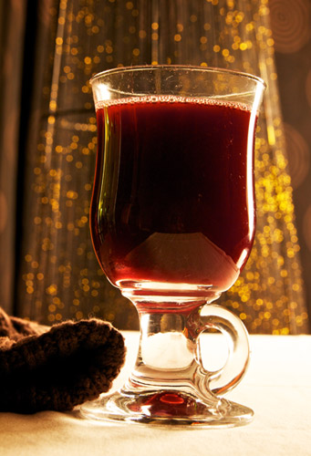 Mulled wine vegan recipe