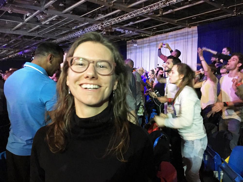Elke on UPW London Tony Robbins