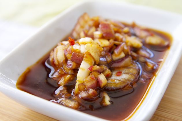 Marinade with sweet and salt soy sauce