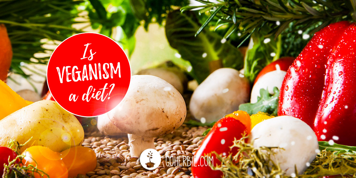 Is veganism a diet?