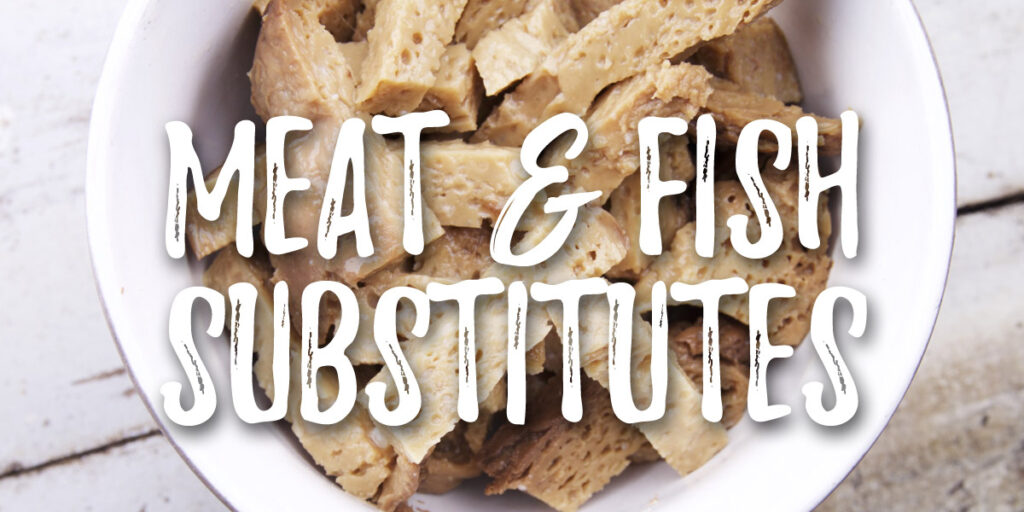 Meat and fish substitues - grocery