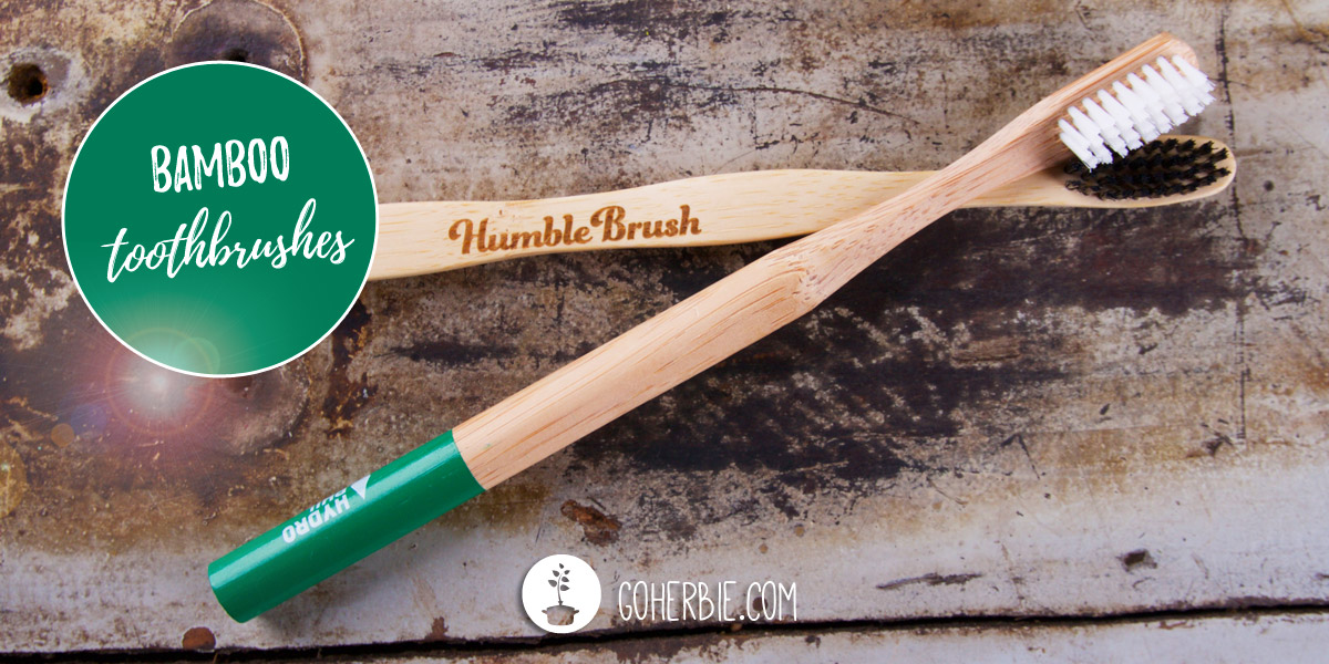 Bamboo toothbrushes (eco-friendly and vegan)
