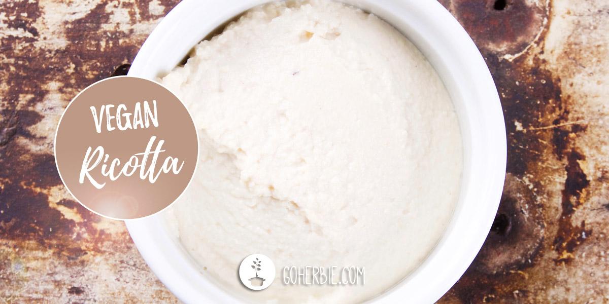 Vegan cashew ricotta cheese – how to make it
