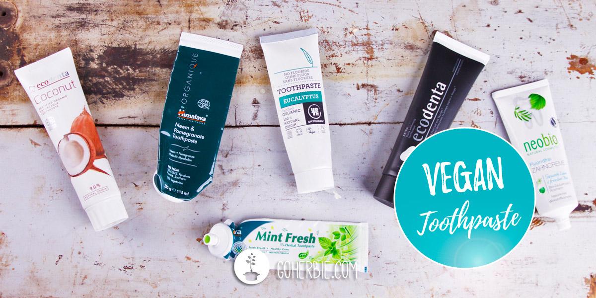 Vegan toothpaste – the best brands
