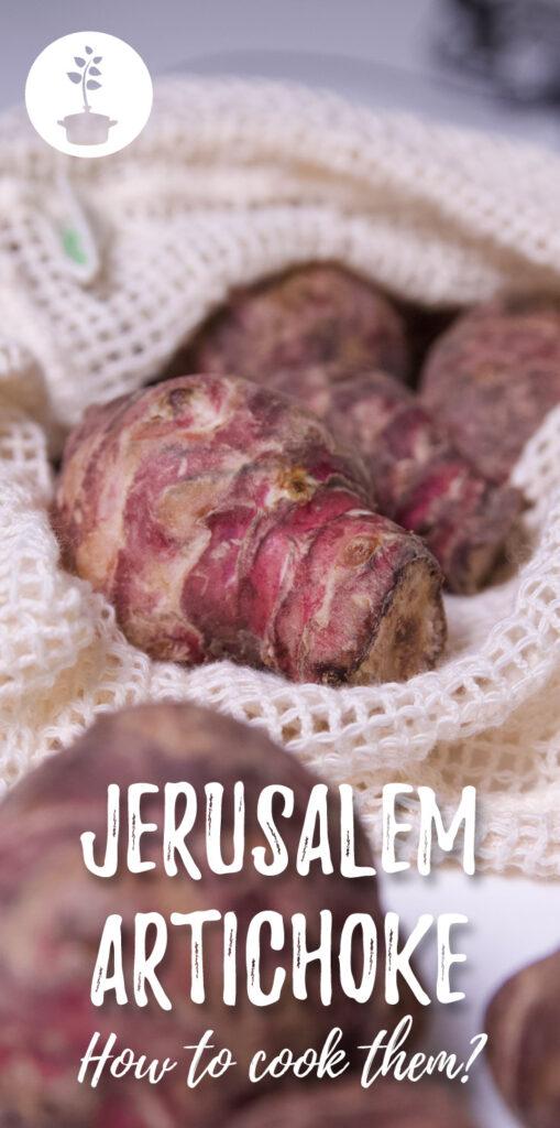 preparing jerusalem artichokes