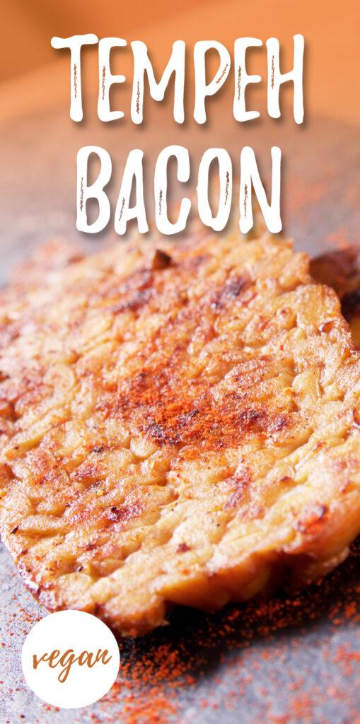 Tempeh bacon - vegan