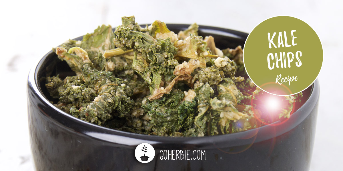 Kale chips – recipe for a tasty, spicy and healthy snack