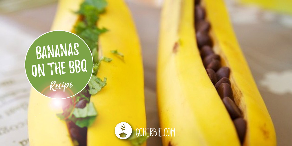 The tastiest baked bananas ever – on the bbq!