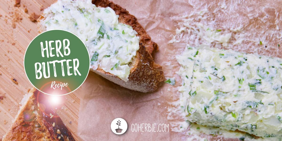 How to make garlic herb butter – vegan recipe