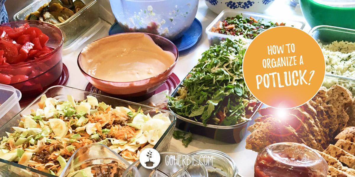How to organize a potluck (8 tips)