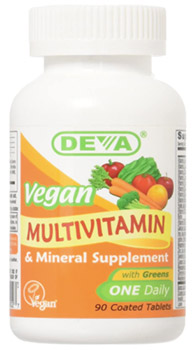 vegan multivitamin supplement